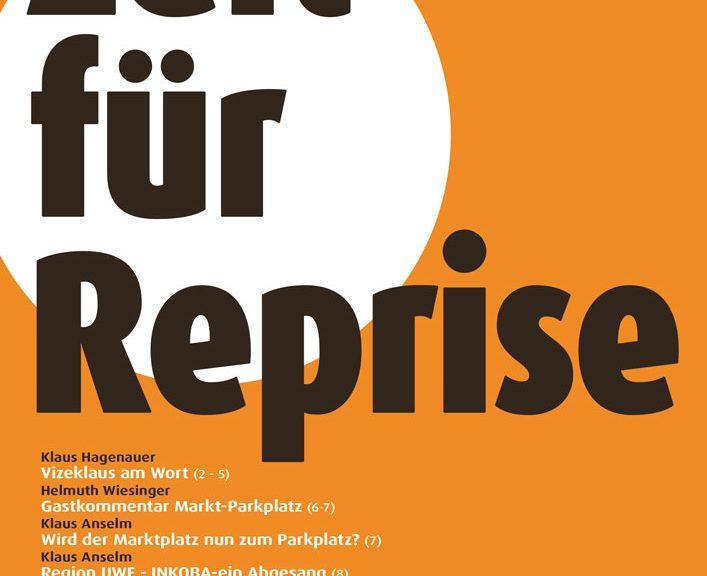 """pro O. Sommerausgabe """"Zeit für Reprise"""""""