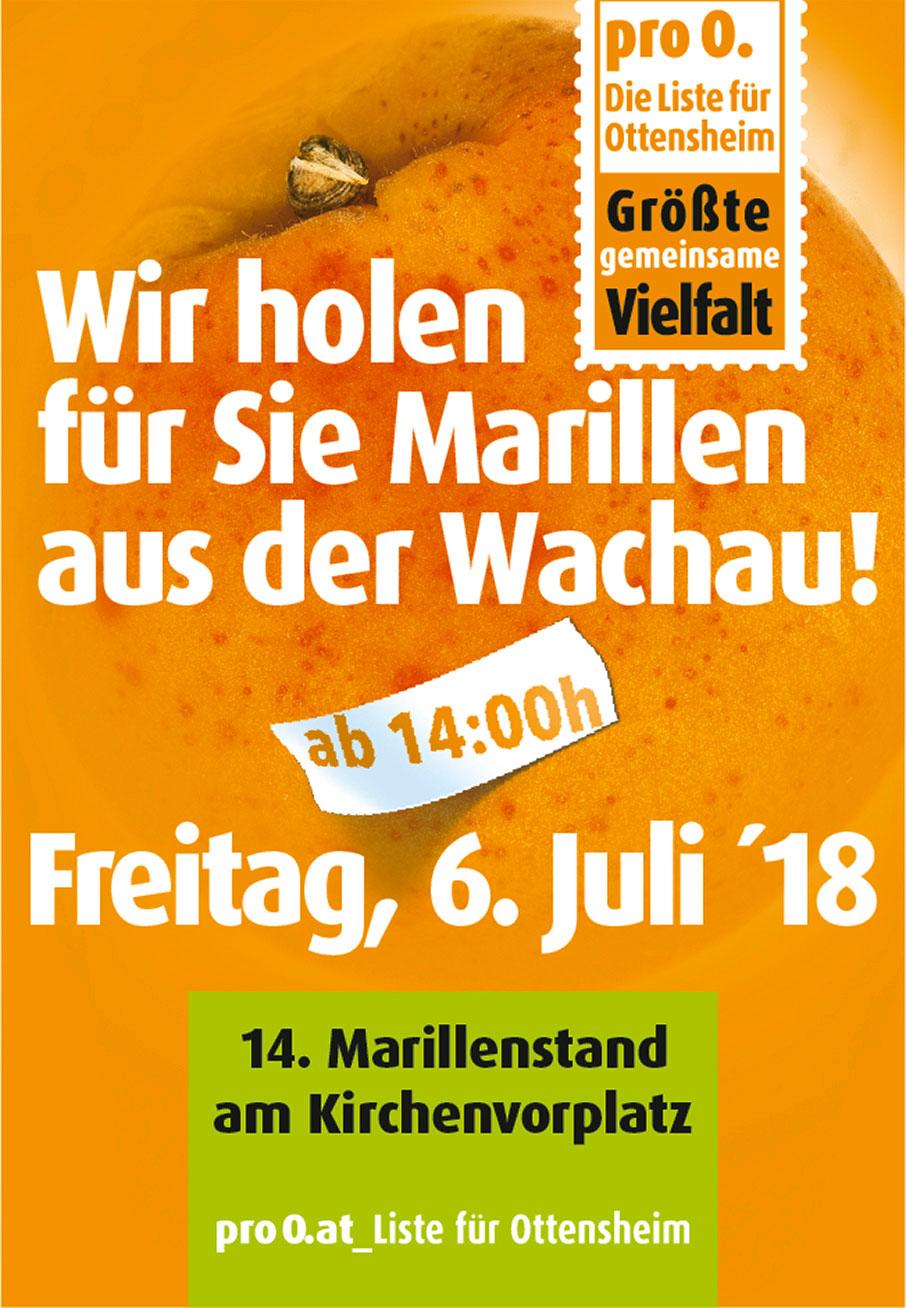 proO. holt für Sie Marillen aus der Wachau!